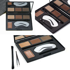 MakYaji BROW ENHANCER Professional Wax & Eyebrow Matte Powder 4 Color + tweezer