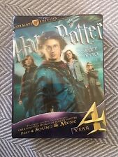 Harry Potter and the Goblet of Fire (DVD, 2010, 3-Disc Set, Ultimate Edition NEW