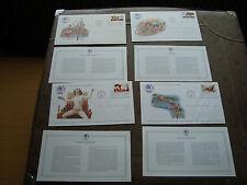 ETATS-UNIS - 4 enveloppes 1er jour 4/11/1983 (jo los angeles)(cy86)united states