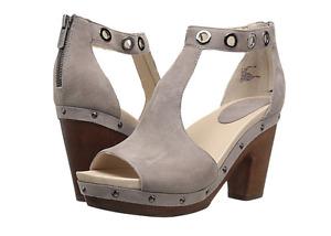 Jambu Sheila Light Taupe Suede Wedge Platform Sandal Women's sizes 6-10/ NEW!!