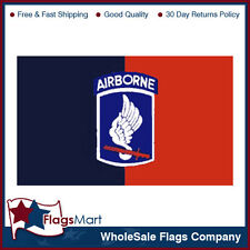 3x5 ft 173rd Airborne #B (Black/Red) Flag #F1307