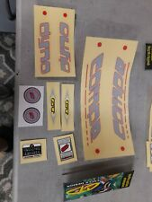 Original Dyno Compe Decal Set NOT Reproduction IN ORIGINAL PACKAGING