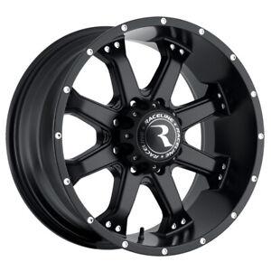 "Raceline 991B Assault 18x9 8x6.5"" +18mm Matte Black Wheel Rim 18"" Inch"