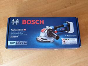 Bosch Professional Akku-Winkelschleifer GWX 18 V-8 mit X-LOCK