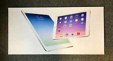 "Rare 2013 Apple i Pad Huge 60 x 29-1/2"" Store Mylar Sign Banner Poster Mint Cond"