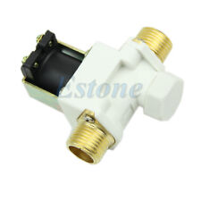 """N/C DC 12V 0-0.8MPa 1/2"""" Electric Solenoid Valve for Water Air Hot"""