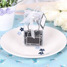 New Party Gift Wedding Favors Diamond Crystal Ring Keychain Key ring