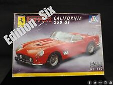 1:24 Italeri FERRARI CALIFORNIA 250 GT No. 662 Vintage plastic Model kit
