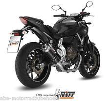 Sport Auspuff MIVV GP BLACK Komplettanlage Yamaha MT-07 Bj. 2014-2016 Typ RM04