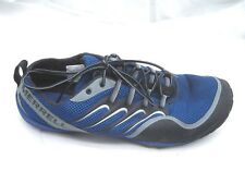 Merrell Barefoot Trail Glove Olympia blue black mens running shoes sz 15M 2011