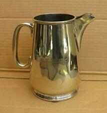Vintage Silver Plate Pub Water Jug Duke Of Richmond
