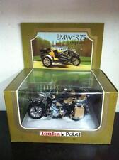 Tonka / Polistil 1:15 BMW R75 R 75 ELEPHANT con Sidecar in Metallo Vintage MIB