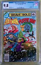 Brave and the Bold #148 (Mar 1979, DC) CGC 9.8 NM/MT (Batman, Plastic Man)