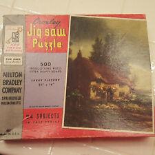 Jigsaw Puzzle FACTORY SEALED Vintage Croxley 4611 Milton Bradley 500 Pieces USA