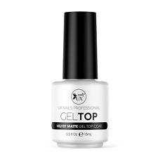 UX Nails Gel Matte Top Coat 0.5 FL OZ For Mani Gel Dip Powder Acrylic