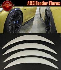 """4 Pieces Glossy White 1"""" Diffuser Wide Fender Flares Extension For BMW"""