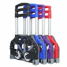 170lbs Folding Dolly Cart Push Hand Truck Moving Warehouse Platform Trolley UY
