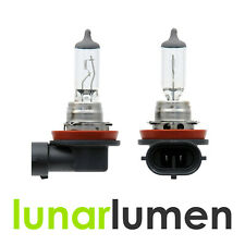2 x Lunar Lumen H15 12V 55W Super White DRL Halogen 715 Headlight Bulbs ~6000K