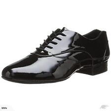 CAPEZIO Brand NEW Boys Black VINTAGE PATENT LEATHER TAP Jazz DANCE Shoes Sz 9 W