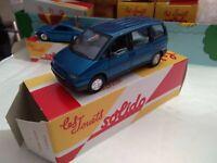 SOLIDO POUR HACHETTE  PEUGEOT 806 1995 SUPERBE AVEC BOITE