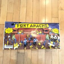 The Famous Fort Apache Vintage Toy Western Playset Brand New Made In USA