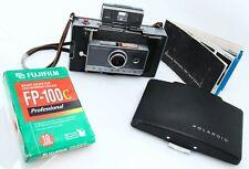 Polaroid Automatic 100 Land Camera 1960s w/ Fuji FP-100C film, Manual 389397