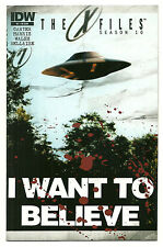 X-Files Season 10 #1 Cover RI Near Mint