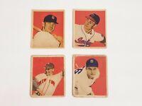 1949 Bowman Baseball Jack Lohrke #59 New York Giants Set Break