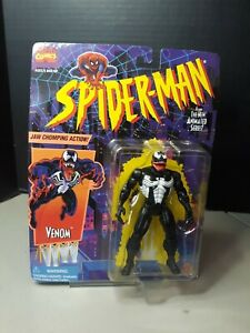 Spiderman The Animated Series Venom 1996 Toybiz MOC