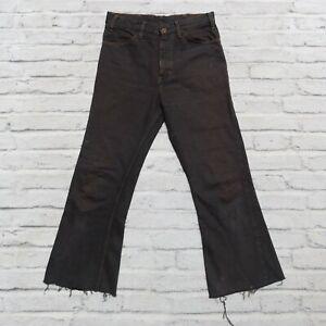 Vintage Levis 646 Bootcut Denim Jeans Made in USA Size 29 30 Orange Tab