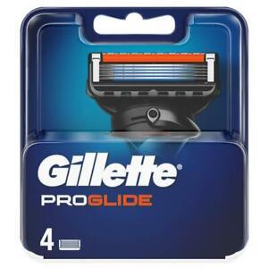 Gillette Fusion Proglide Manual 4 and 8 Blade Packs - UK Seller - 100% Genuine
