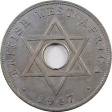 BRITISH WEST AFRICA - PENNY - 1947 KN - GEORGE VI
