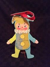 Vintage Fisher Price 1969 Jolly Jumping Jack #145 Baby Crib Toy Baby Moveable