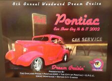 2002 Woodward Dream Cruise Poster