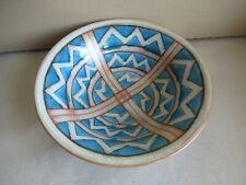 grosse alte Art Deco Schale Karlsruhe Keramik Ludwig König 1927 (q)