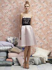 Lela Rose strapless lace Dress  ( Size 8)