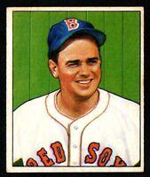 1950 Bowman Baseball #45 Al Zeke Zarilla (Red Sox) EX