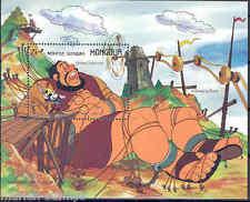 MONGOLIA  DISNEY GRIMM BROTHERS S/S  SCOTT#1637  MINT NH