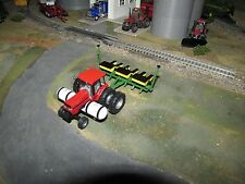 1/64 Ertl Case IH Magnum 7110 w/ Saddle Tanks & SpecCast JD 6 Row Planter