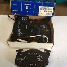 genuine peugeot 205 GTI 1.6 diesel turbo ft pads 1988 on 425072 425263 425265
