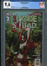 Suicide Squad #1   (New 52)  CGC 9.6  White Pages