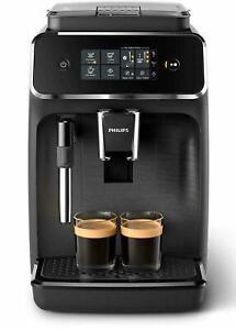 PHILIPS EP 2220/10 Panarello fully automatic coffee machine in black finish