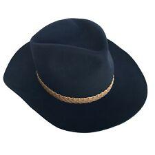 83da378fbeef7 Vintage Shepler s DynaFelt Outback Mens Wool Felt Cowboy Hat WPL 5923 NWT  Size 7