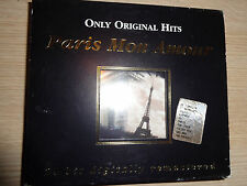 BOX COFANETTO 2 CD PARIS MON AMOUR ONLY ORIGINAL HITS MADE IN FRANCE 2002