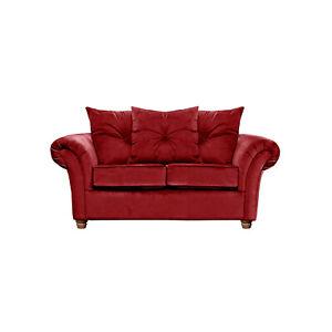 Wayfair Lila 2 Seater Rust 170cm Velvet Sofa RRP £799 BRAND NEW / CLEARANCE C235