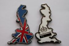 Smitten with Britain Geocoin, Geocaching Travel Bug Trackable. Unactivated.