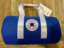 Converse Chuck Taylor All Star  Lunch Bag Laser Blue & White Insulated