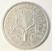 DJIBOUTI 1999 2 FRANCS UNC COIN KM# 21 [529]