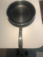 Hexclad Pan Hybrid Stainless Steel/Non-Stick Tri-Ply 10 Inch Pan with lid