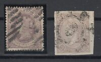X765/ SPAIN – ISABEL II – EDIFIL # 73a – 86 USED – CV 225 $